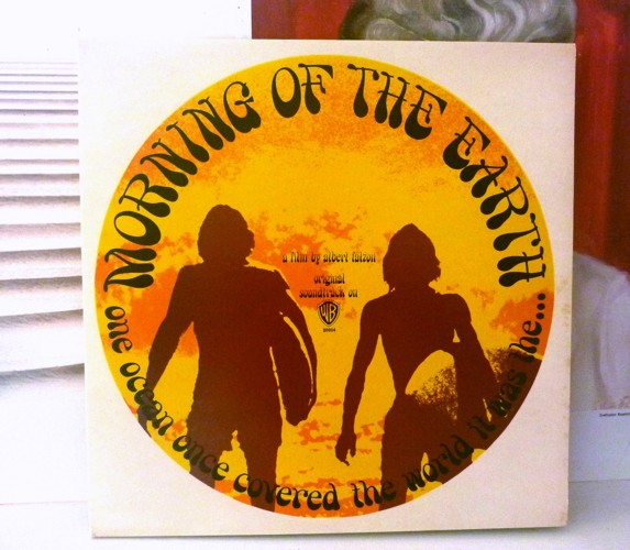 Cover of the Morning of the Earth LP